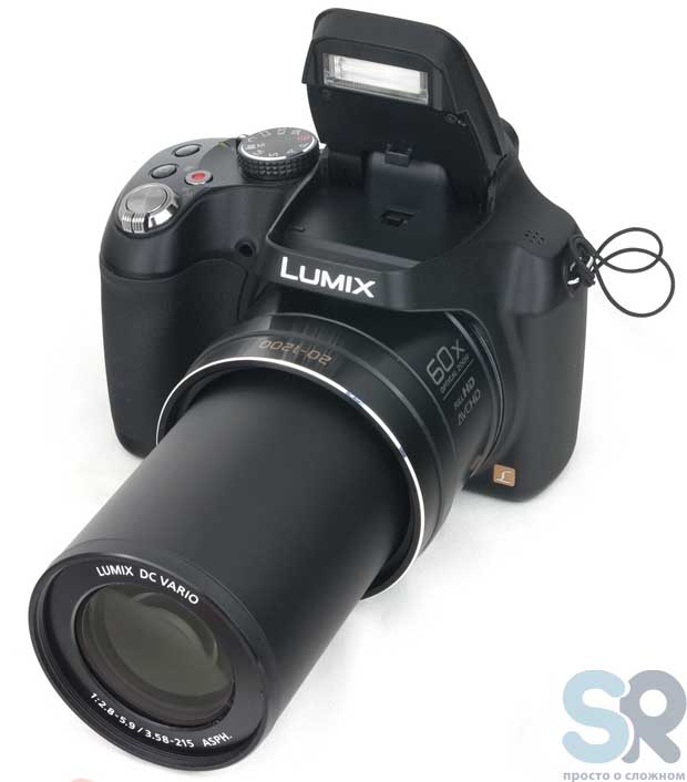 Объектив камеры Panasonic Lumix DMC-FZ72