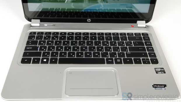 Клавиатура и тачпад HP ENVY TouchSmart 4