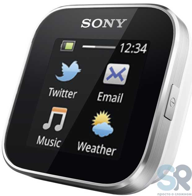 Экран Sony SmartWatch