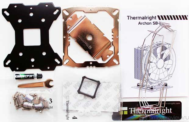 Комплектация Thermalright Archon SB-E