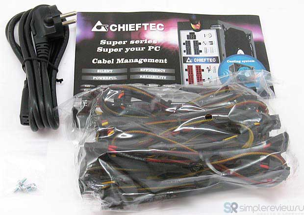 Комплектация CHIEFTEC CFT-600-14CS