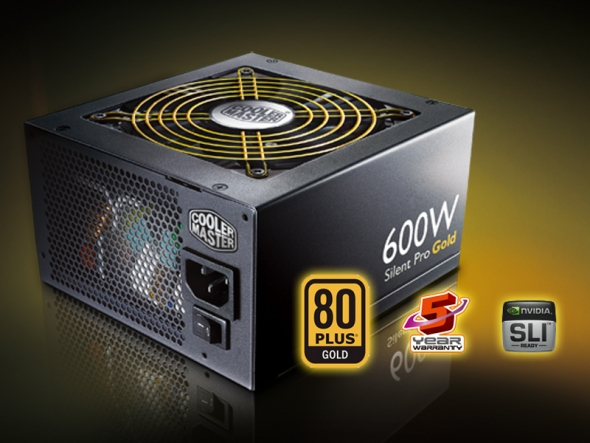 Cooler Master Silent Pro Gold 600W_2