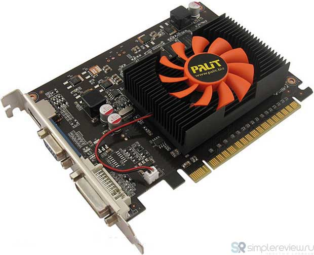 Дизайн Palit GeForce GT 630