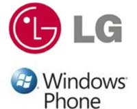Логотип LG И Windows Phone